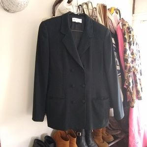 Liz Claiborne 2-piece double breasted skirt suit